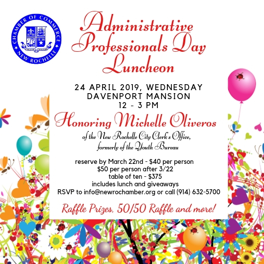 Thank You Quotes For Administrative Professionals Day: New Rochelle Chamber Of Commerce